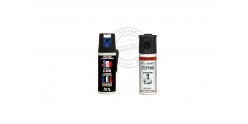 Set of 2 self-defence sprays 50ml CS gel + 50ml Pepper gel - PROMOTION