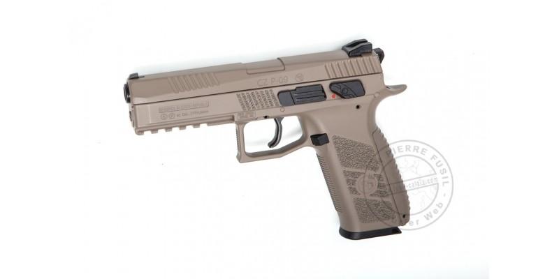 ASG CZ P-09 FDE - Blowback CO2 pistol - .177 bore - Desert (3.7 joules)