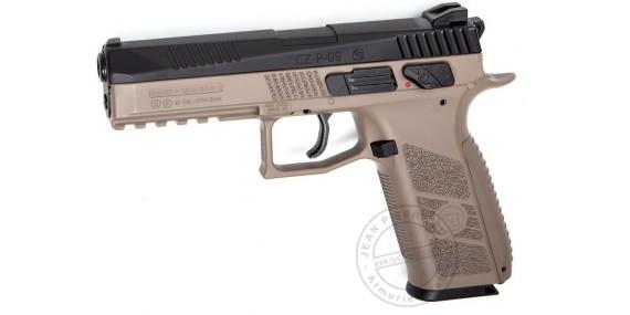 ASG CZ P-09 DT FDE - Blowback CO2 pistol - .177 bore - Dual Tone (3.7 joules)
