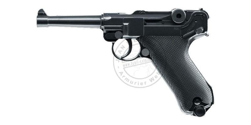 Pistolet à plomb CO2 4.5 mm UMAREX Legends P08 blowback (inf. à 3 Joules)