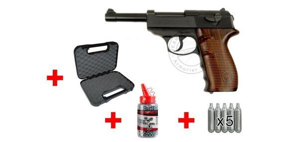 Kit pistolet à plomb CO2 4.5 mm CROSMAN C41 (3,4 joules) - PROMO NOEL 2016