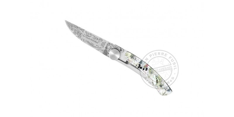 Le Thiers Claude DOZORME knife - Hipster - Carribean Dandy