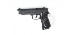 Pistolet à plomb CO2 4.5 mm ASG X9 Classic - Blowback - Noir (1,6 joules)