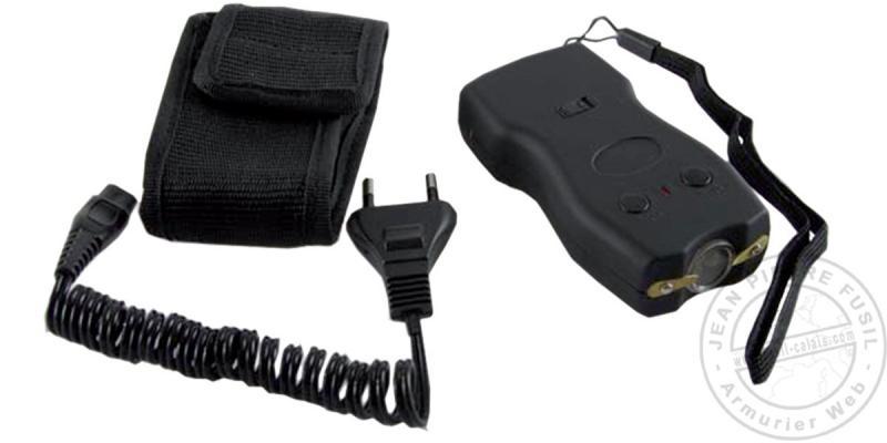 Police Security stun gun - 2 000 000 V rechargeable