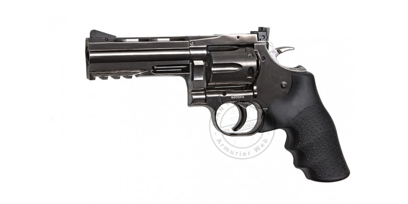 ASG Dan Wesson 715 CO2 revolver - 4'' barrel - Steel grey - .177 BB bore (2.1 joules)