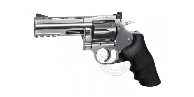 ASG Dan Wesson 715 CO2 revolver - 4'' barrel - Silver - .177 bore (2.7 joules) - Pellets
