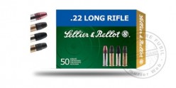 Munitions 22 Lr Standard LRN - Sellier & Bellot - 2 x 50