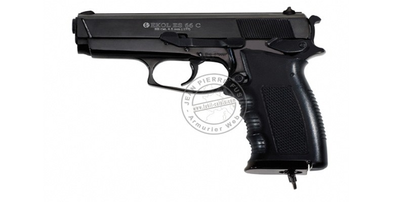 Pistolet à plomb CO2 4,5 mm EKOL ES66C (2,6 Joules)