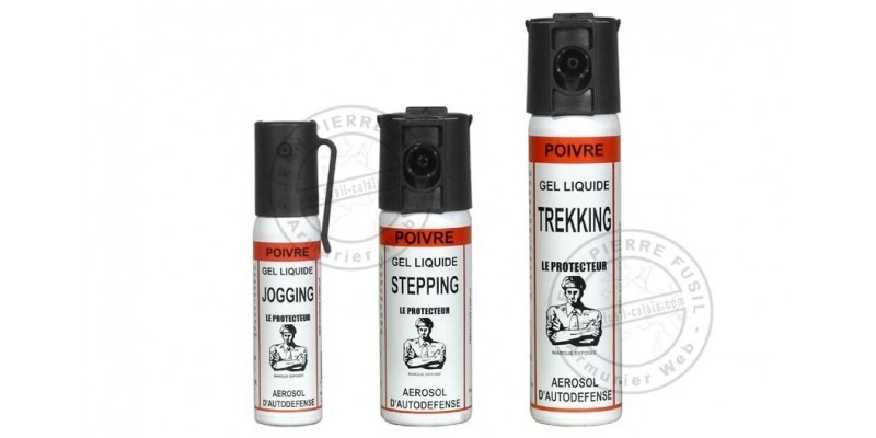 Set of 3 self-defence sprays Pepper gel - PROMOTION