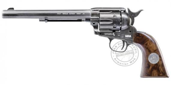 "Revolver à plombs UMAREX Colt SAA .45 canon 7.5"" - 4,5mm CO2 - NRA Limited Edition (3 Joules)"