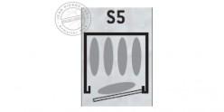 Armoire forte 5 armes longues - INFAC Sentinel