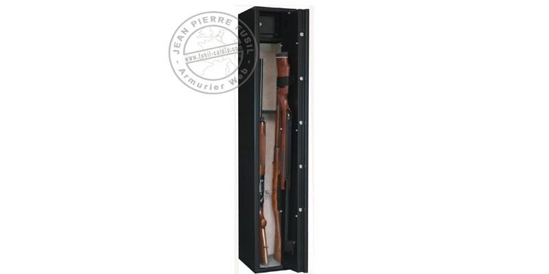 Armoire forte 5 armes longues à lunette + coffre - INFAC Sentinel