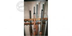 Armoire forte 10 armes longues à lunette + coffre - INFAC Sentinel