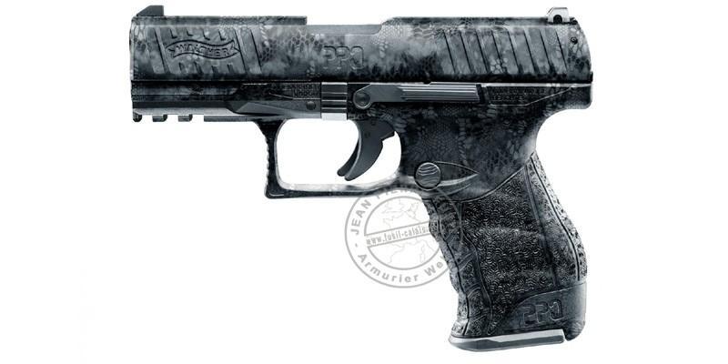 WALTHER PP M2 blank firing pistol - Kryptek black - 9mm blank bore