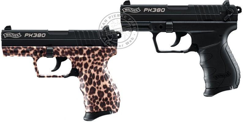 WALTHER PK380 blank firing pistol - 9mm blank bore