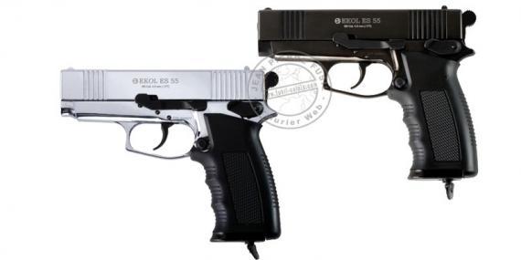 Pistolet à plomb CO2 4,5 mm EKOL ES55 (2,4 Joules)