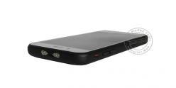 Shocker électrique smartphone 2 400 000 V + lampe + alarme