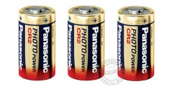Set of 2 lithium batteries CR2 3V