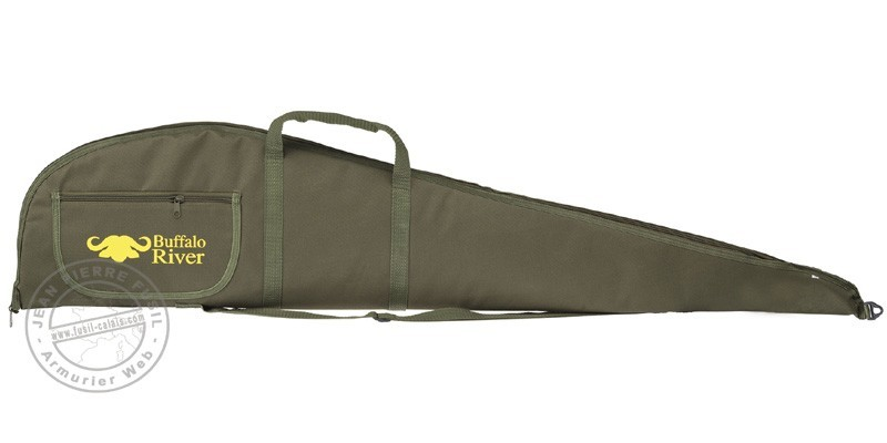 Textile rifle case - 122 cm - Green