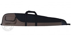 Textile rifle case - Black and beige - 123 cm