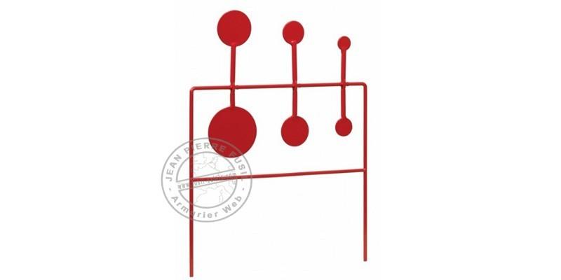 Triple cibles métalliques rotatives STOEGER