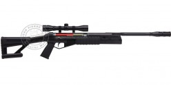 Carabine 4,5 mm CROSMAN TR77 NPS - Noire (-20 joules) + Lunette 4x32