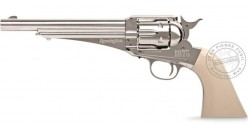 REMINGTON 1875 CO2 revolver 6'' barrel - .177 bore - Nickel (3 Joules)