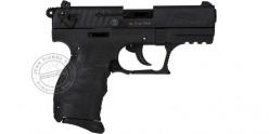 Pistolet alarme WALTHER P22 Q noir - Cal. 9mm