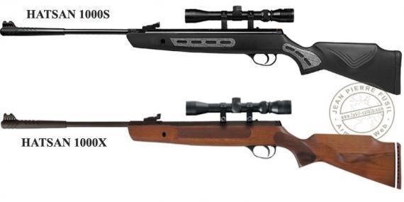 Carabine à plomb 4,5 mm HATSAN Striker 1000 (19,9 Joules) + lunette 3-9 x 32