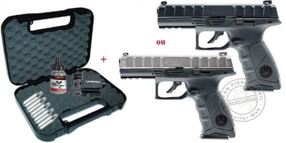 UMAREX - Beretta APX CO2 pistol pack - .177 bore (2.5 joules)
