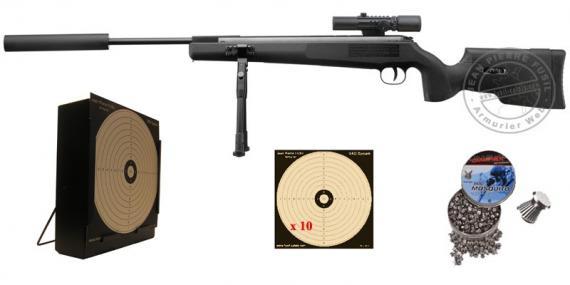 Kit carabine à plomb ARTEMIS SR1250S NP 4.5 mm (19,9 joules) - PROMO
