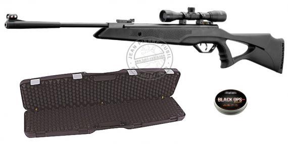 Pack carabine à plomb 4.5 mm BEEMAN Longhorn (19.9 joules) - PACK PROMO