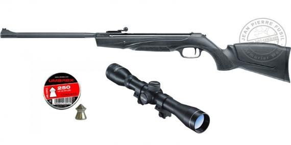 HAMMERLI Black Force 880 Air Rifle pack - .22 rifle bore (16 joules) - SPECIAL OFFER