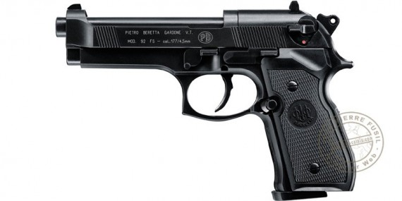 UMAREX - BERETTA 92 CO2 pistol - black - .177 bore (3,5 joules)