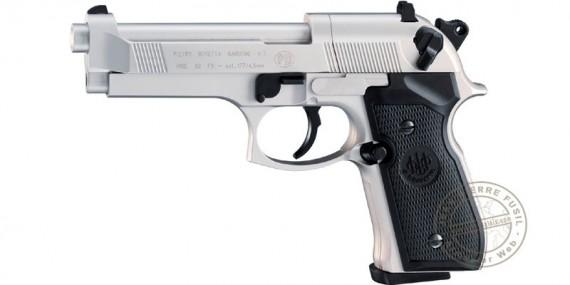 Pistolet à plomb 4.5 mm UMAREX - BERETTA 92 nickelé (3,5 joules)