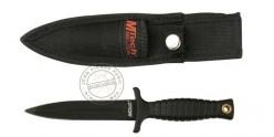 Couteau de botte MTECH - MT-206BK - Lame noire