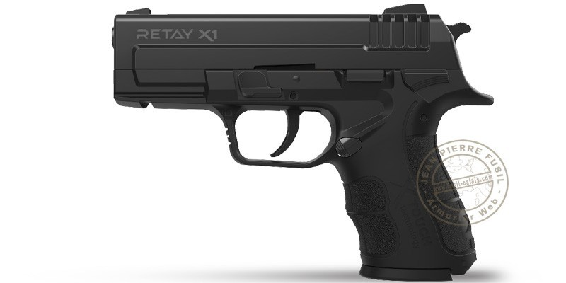 RETAY Mod. X1 blank firing pistol - 9mm blank bore