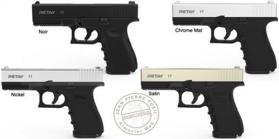 RETAY Mod. 17 blank firing pistol - 9mm blank bore