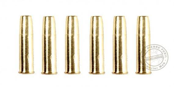 ASG - Lot de 6 douilles pour revolver Schofield 4.5mm Diabolos