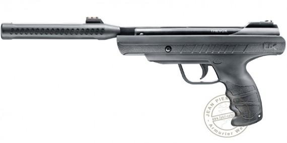 Pistolet à plomb avec canon silencieux 4,5 mm UMAREX Trevox (inf. à 7,5 joules)