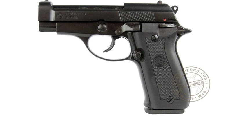 BRUNI Mod. 85 blank firing pistol - Black - 9mm blank bore