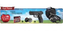 Kit Pistolet à plomb CO2 4.5 mm GAMO GP-20 Combat (2,6 joules) - PACK CERISE 2018