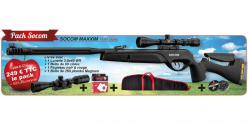 GAMO Socom Maxxim airgun kit (19.9 joule) + 3-9 x 40 scope - PACK PROMO