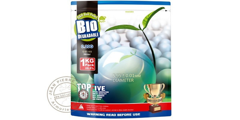 2000 pellets Soft Air - biodegradable - 0.20g
