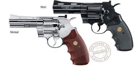 """UMAREX - COLT Python 4"""" CO2 revolver - .177 bore"""