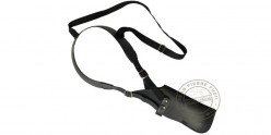 Shoulder holster for pistol - leather
