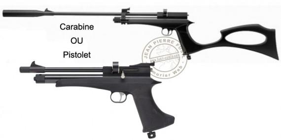 Pistolet - carabine à plomb CO2 4,5 mm ARTEMIS CP2 (6 - 8 Joules)