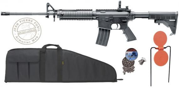 Pack carabine à plomb 4,5 mm Umarex COLT M4 (19,9 Joules)
