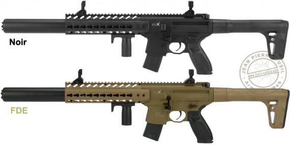 Pistolet mitrailleur à plomb CO2 4,5 mm SIG SAUER MCX ASP (7 joules max)