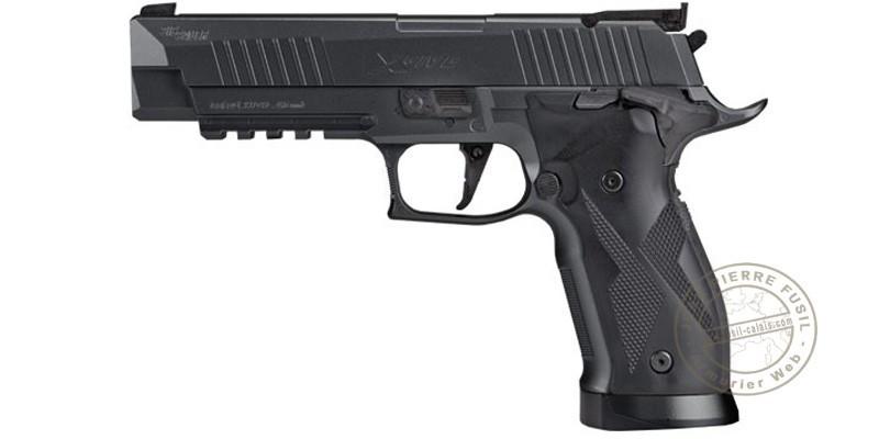 Pistolet à plomb CO2 4,5 mm SIG SAUER X-FIVE ASP - Blowback (3,7 Joules)